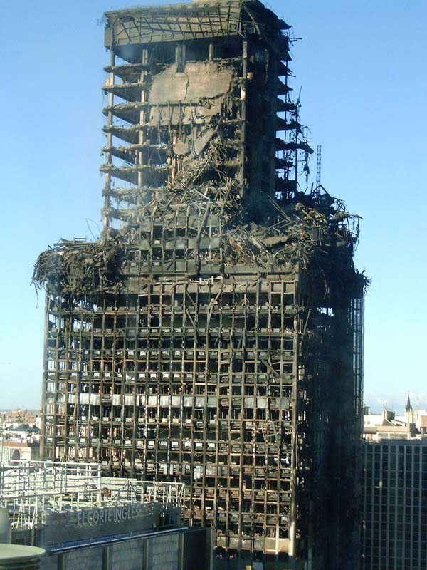 Steel Frame Towers : High rise fire fighting construction materials